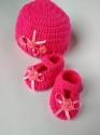 Комплект шапочка і взуття для пупса, кольори в асортименті Dutunka