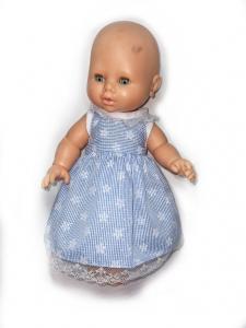 Плаття для пупса 32 см Блакить Dutunka