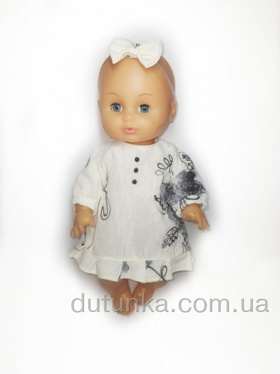 Плаття для пупса 35 см Ніжне Dutunka