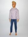 Комплект одягу для Кена з сірими брюками Dutunka