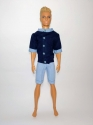 Комплект літнього одягу для Кена - теніска та шорти Dutunka