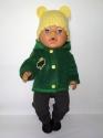 Парка для ляльки Бебі Борн Зелена Dutunka