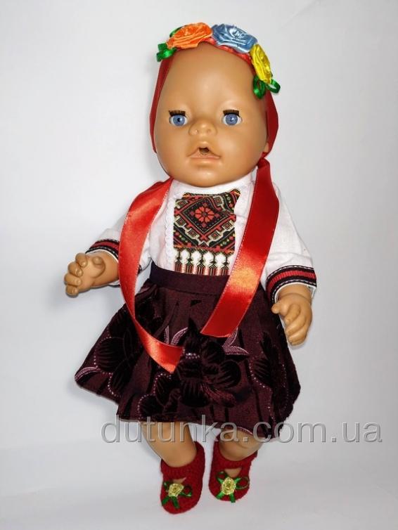Наряд для Бебі борн Україночка (вибір моделей) Dutunka
