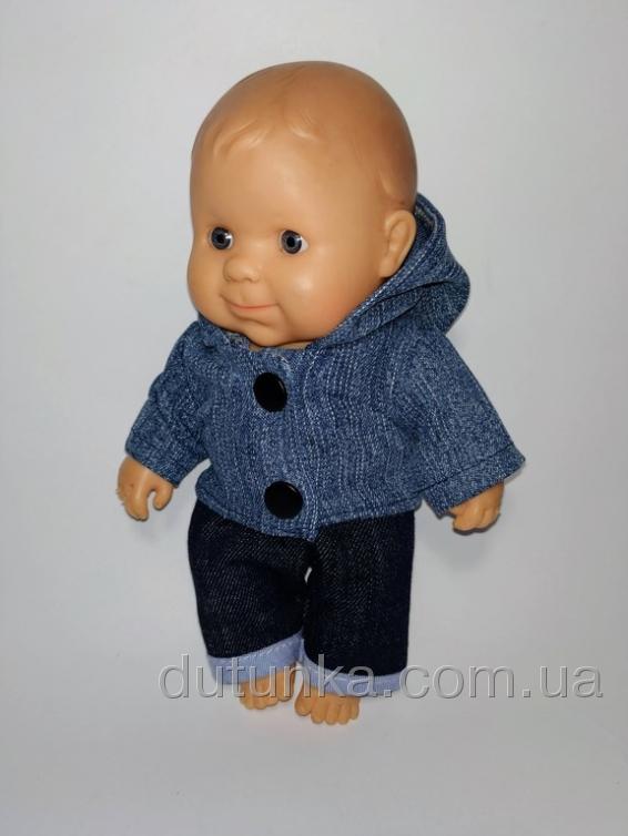 Джинсовиий піджак для Паола Рейна   Dutunka