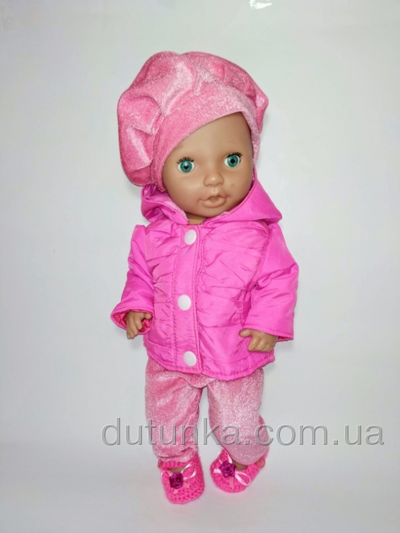 Тепла куртка для ляльки 38 см Dutunka