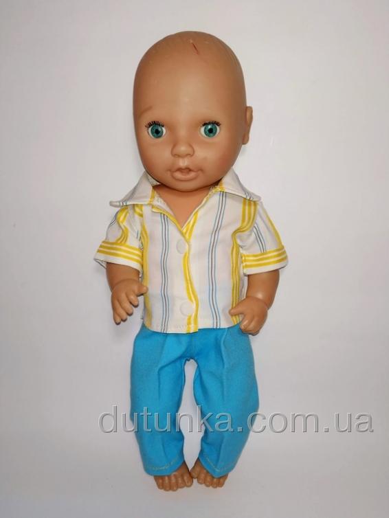 Комплект одягу для пупса 38 см Модник  Dutunka