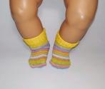 Носки для пупса Бебі борн (кольори) Dutunka