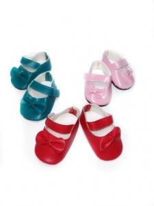 Взуття для Бебі Борн - туфлі Бантики (5 кольорів) Dutunka
