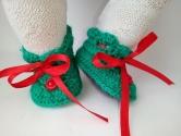 В´язані черевички для пупса Бебі Бон в асортименті Веселка Dutunka