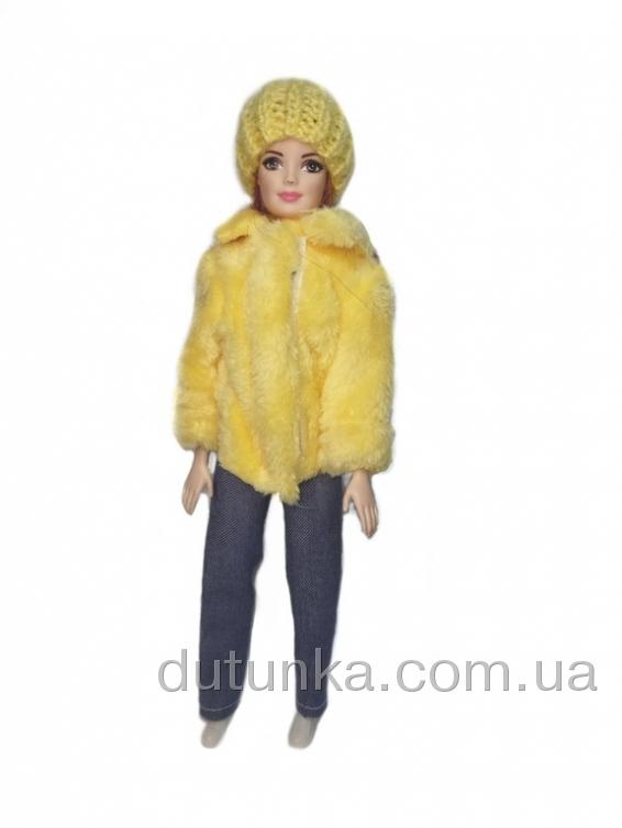 Шуба для ляльки Барбі (кольори) Dutunka
