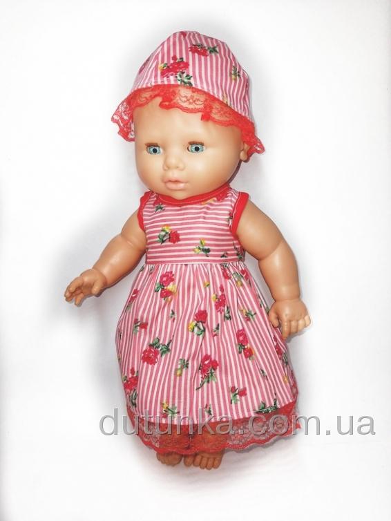 Літня сукня з капелюшком Розочки Dutunka