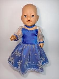 Плаття для Бебі Борн Ельза. Морозний настрій   Dutunka