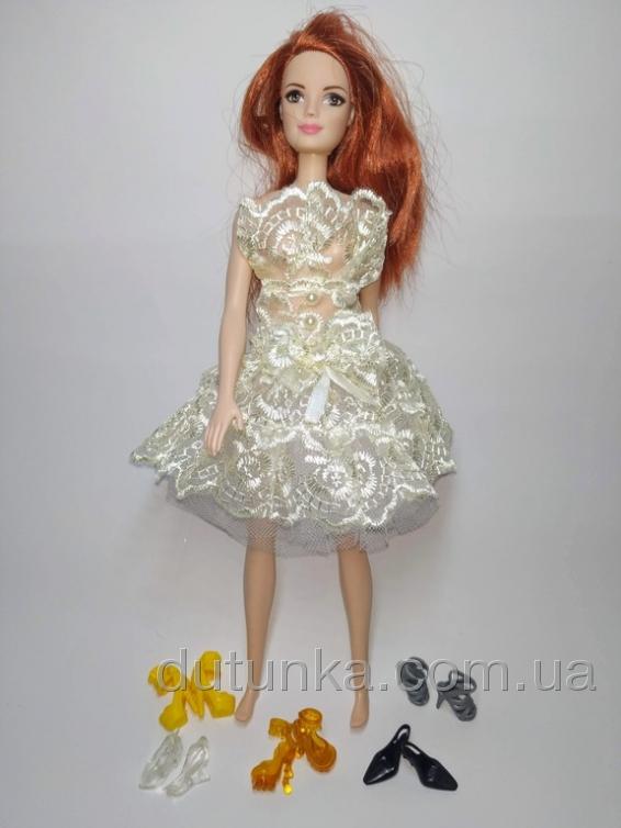 Плаття бальне для ляльки Барбі Ніжне Dutunka