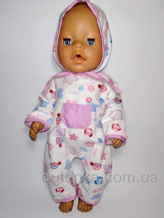 Чоловічок для Бебі Борн Ведмедики (рожевий, блакитний)  Dutunka
