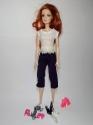 Комплект одягу з шортами для ляльки Барбі Стильний Dutunka