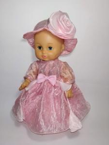 Плаття із шляпкою для пупса 35 см Dutunka
