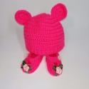 В´язаний комплект з шапочкою для пупса Мишка (кольори в асортименті) Dutunka