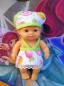 Сукня з панамкою для маленької лялечки Паола Рейна Мілена Dutunka