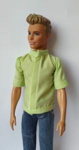 Салатовая рубашка для Кена  (К22) Dutunka