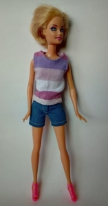 Комплект для куклы Барби с шортами (Б46) Dutunka