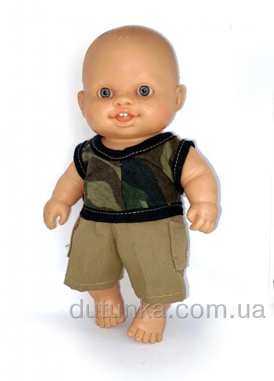 Літній комплект для пупса-хлопчика Паола Рейна Модний хлопець Dutunka