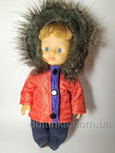 Куртка с капюшоном для куколки 28 см Пламя (К28-58) Dutunka