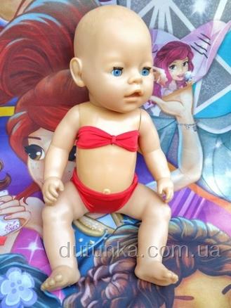 Ляльковий роздільний купальник для пупса Бебі Борн Dutunka