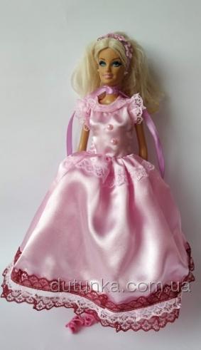 Бальне плаття для ляльки Барбі Рожеве (немає в наявності) Dutunka