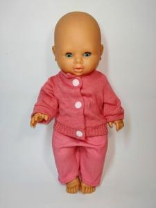 Костюм для ляльки дівчинки 32 см Рожевий (немає) Dutunka
