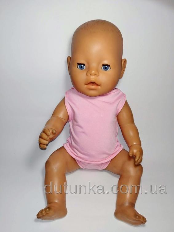 Рожева майка і трусики для Бебі Борн Dutunka