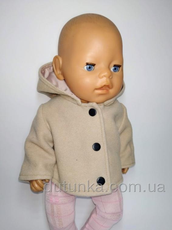 Пальто для пупса Бебі Борн Dutunka