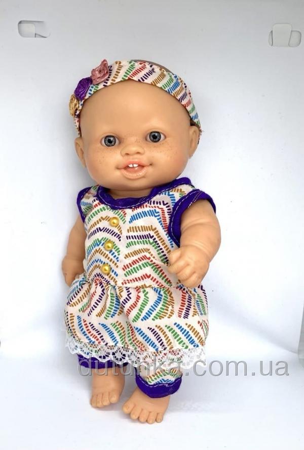 Сукня з повязочкою для пупса-дівчинки Паола Рейна Літній настрій Dutunka