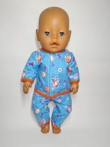 Тепла баєва піжама для ляльки Бебі Борн Dutunka