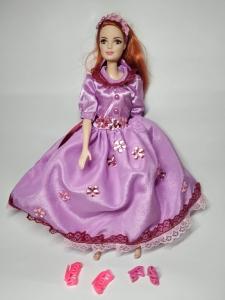 Бальне плаття для ляльки Барбі Квіткова фея  Dutunka