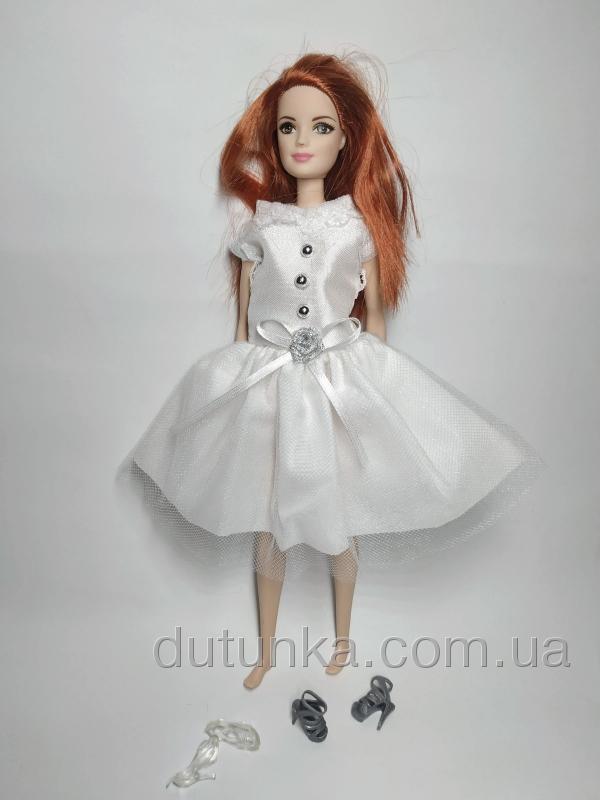 Сукня для Барбі Білосніжне Dutunka