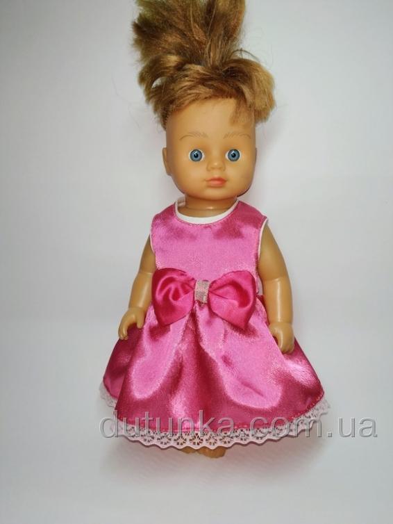 Летнее платье для куколки 28 см Розочка - Літня сукня для ляльки Dutunka