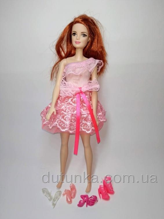 Плаття бальне для ляльки Барбі Рожева мрія Dutunka
