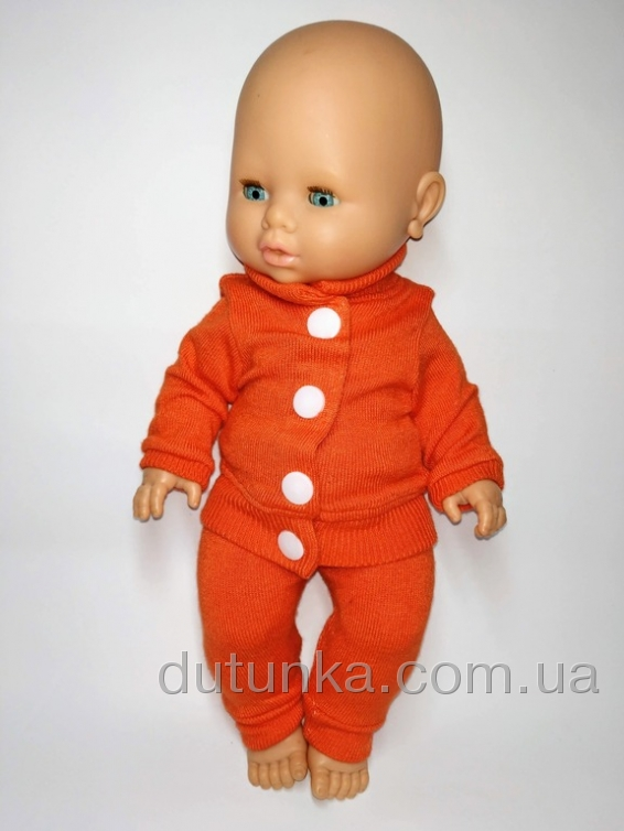 Костюм для ляльки 32 см Трикотажний Dutunka
