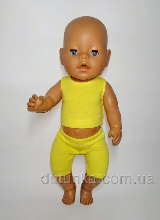 Літній комплект одягу для пупса Бебі Борн Dutunka